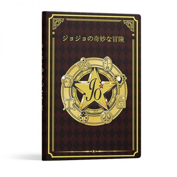 21cm Anime Figure Notebooks Jojo Bizarre Adventure Notebooks Student Note Book Jojos Bizarre Aventure Figure Notebooks 2 - Jojo's Bizarre Adventure Merch