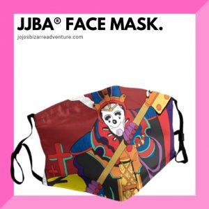 Jojo's Bizarre Adventure Face Masks