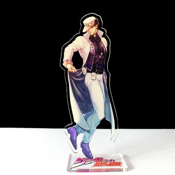 16cm JOJO JOJO s Bizarre Adventure Kakyoin Noriaki Polnareff dio acrylic stand figure model plate holder 4 - Jojo's Bizarre Adventure Merch