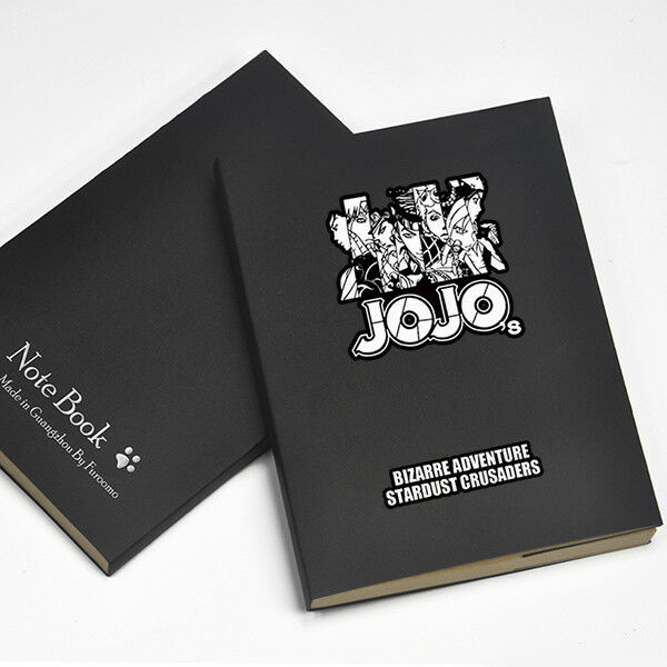 Anime JOJO s Bizarre Adventure Journal Memo Notebook Diary Workbooks Travel Books Cosplay Gifts - Jojo's Bizarre Adventure Merch