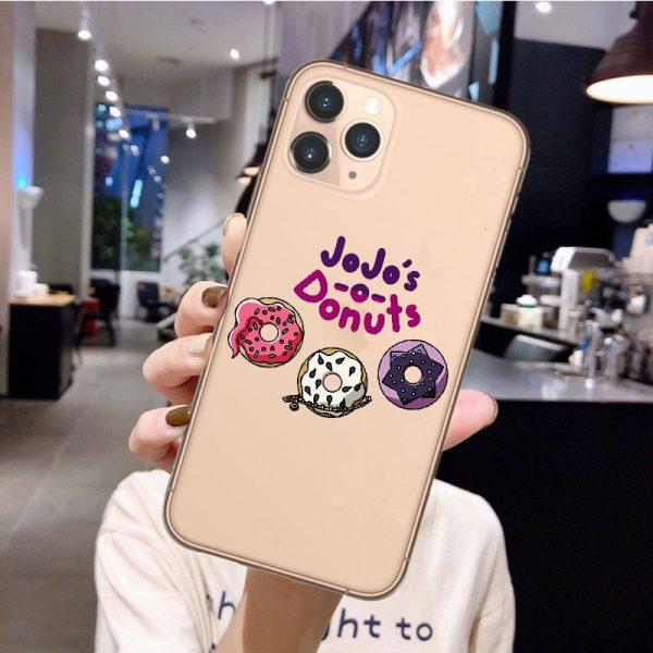 Anime JoJos Bizarre Adventure Phone Case for iPhone 12 Pro Cartoon Silicone Cover For iPhone 11 1 - Jojo's Bizarre Adventure Merch