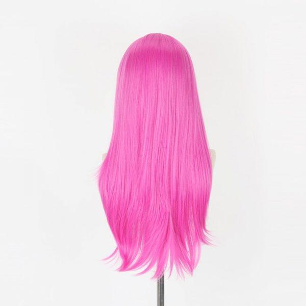 JOJO s Bizarre Adventure Golden Wind Diavolo Pink Long Wig Cosplay Costume Heat Resistant Synthetic Hair 3 - Jojo's Bizarre Adventure Merch