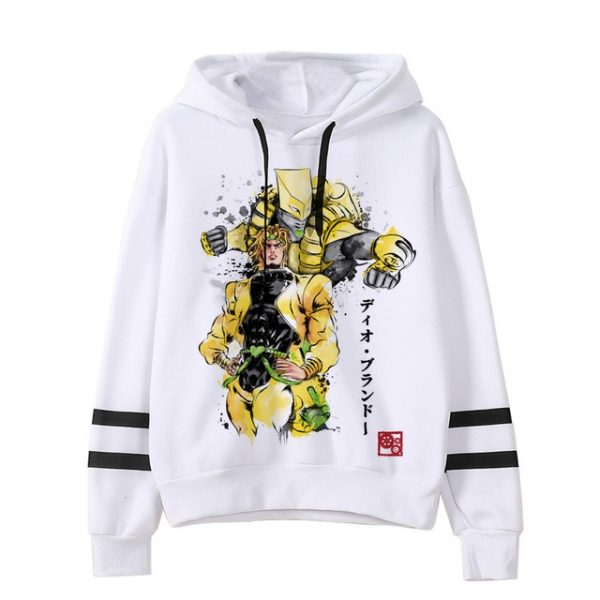 JoJo Bizarre Adventure Hoodie Japanese Anime Men women Funny Sweatshirt Harajuku Cartoon Hip Hop Vintage Clothes 29.jpg 640x640 29 - Jojo's Bizarre Adventure Merch