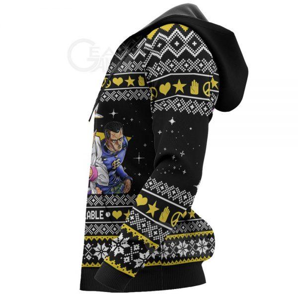 1105 AOP Jojo Ugly Sweater VA 6 HD Left - Jojo's Bizarre Adventure Merch