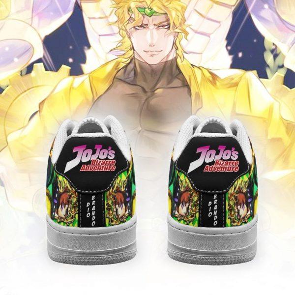 dio brando air force sneakers jojo anime shoes fan gift idea pt06 gearanime 3 - Jojo's Bizarre Adventure Merch