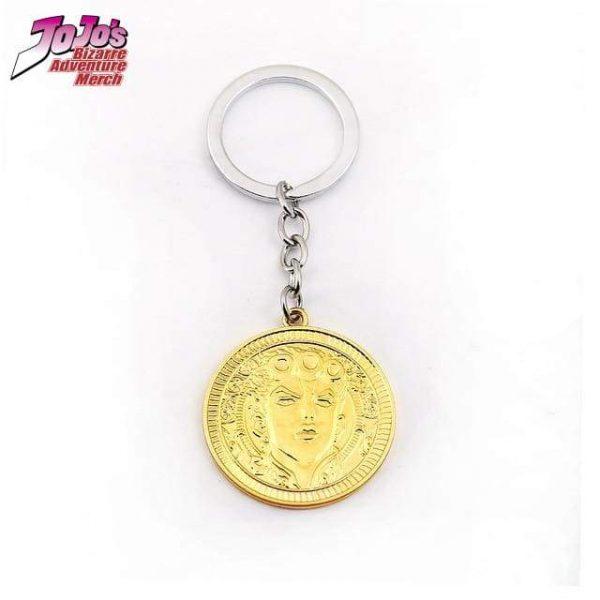 giorno face keychain jojos bizarre adventure merch 808 - Jojo's Bizarre Adventure Merch