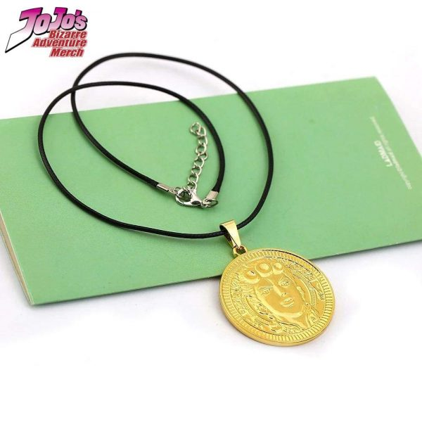 giorno giovanna necklace jojos bizarre adventure merch 395 - Jojo's Bizarre Adventure Merch