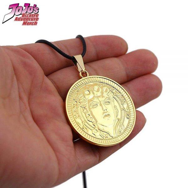 giorno giovanna necklace jojos bizarre adventure merch 433 - Jojo's Bizarre Adventure Merch