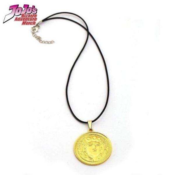 giorno giovanna necklace jojos bizarre adventure merch 706 - Jojo's Bizarre Adventure Merch