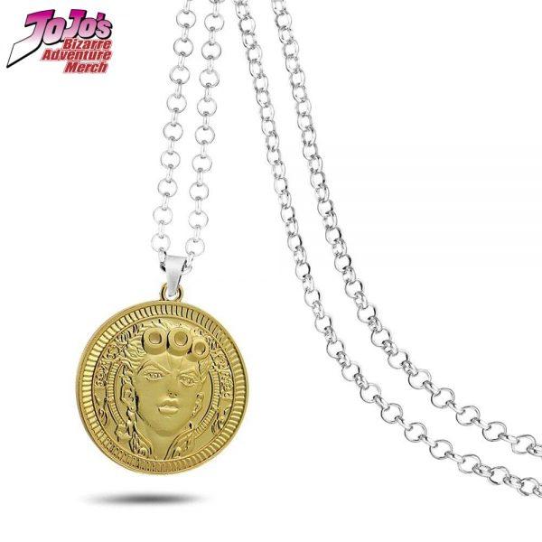 giorno giovanna necklace jojos bizarre adventure merch 850 - Jojo's Bizarre Adventure Merch