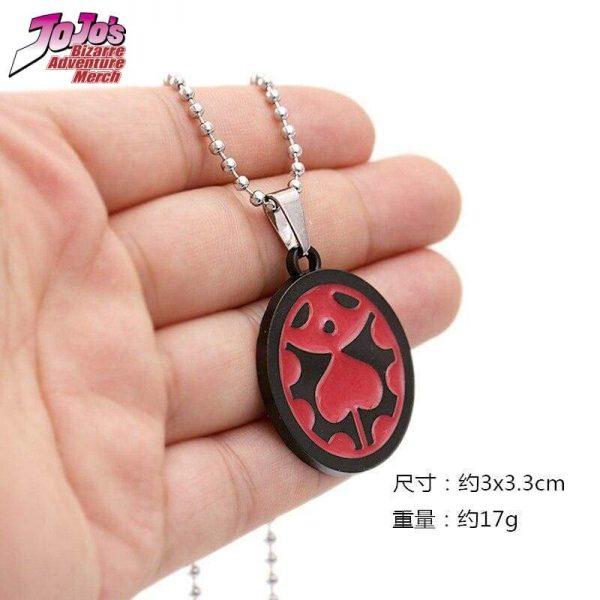 giorno ladybug necklace jojos bizarre adventure merch 900 - Jojo's Bizarre Adventure Merch