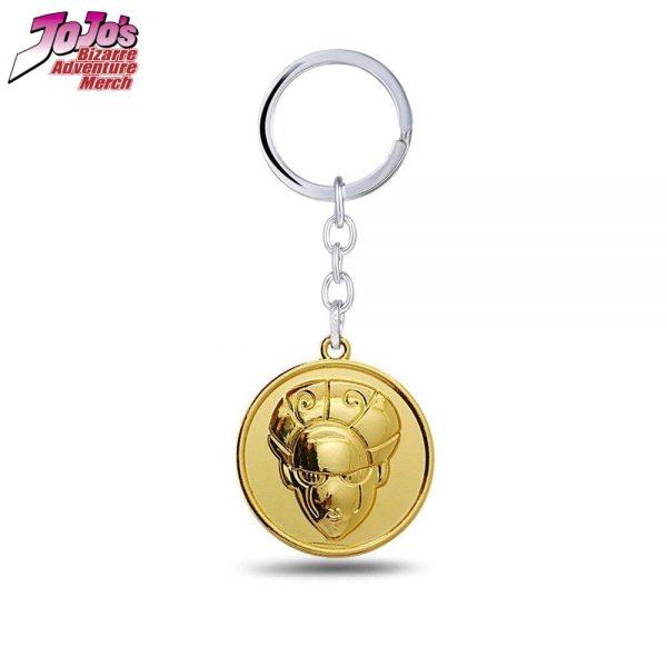 gold experience keychain jojos bizarre adventure merch 476 - Jojo's Bizarre Adventure Merch