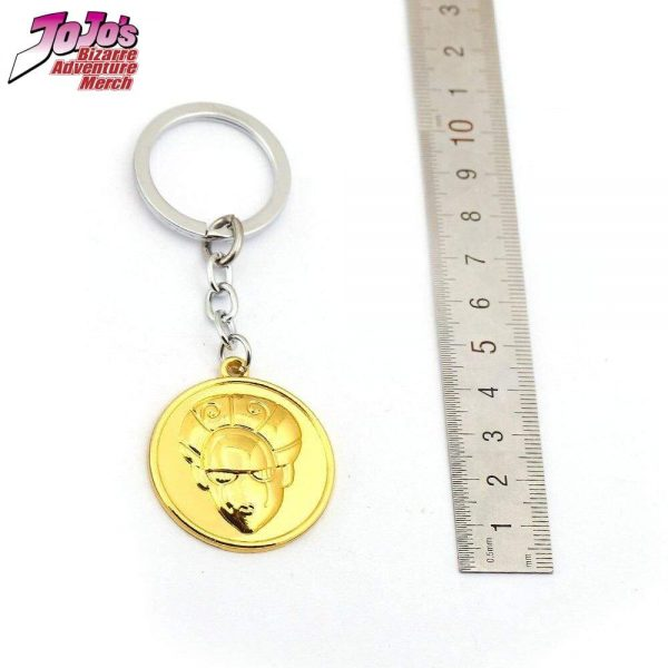 gold experience keychain jojos bizarre adventure merch 969 - Jojo's Bizarre Adventure Merch