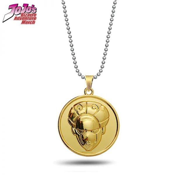 gold experience necklace jojos bizarre adventure merch 261 - Jojo's Bizarre Adventure Merch