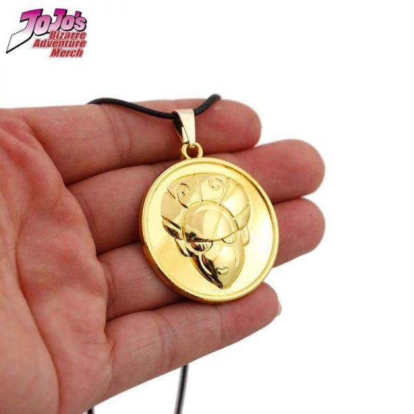 gold experience necklace jojos bizarre adventure merch 602 - Jojo's Bizarre Adventure Merch