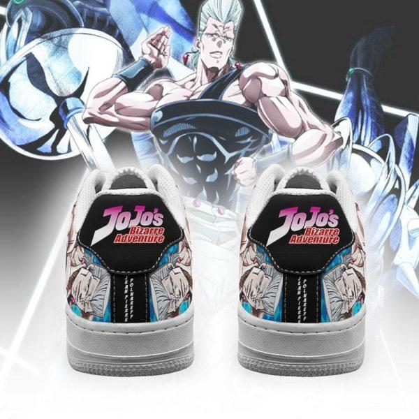 jean pierre polnareff air force sneakers jojo anime shoes fan gift idea pt06 gearanime 3 - Jojo's Bizarre Adventure Merch