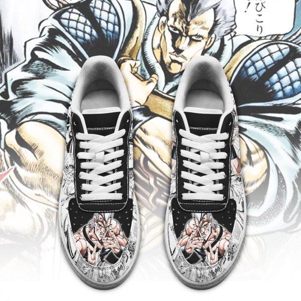 jean pierre polnareff air force sneakers manga style jojos anime shoes fan gift pt06 gearanime 2 - Jojo's Bizarre Adventure Merch