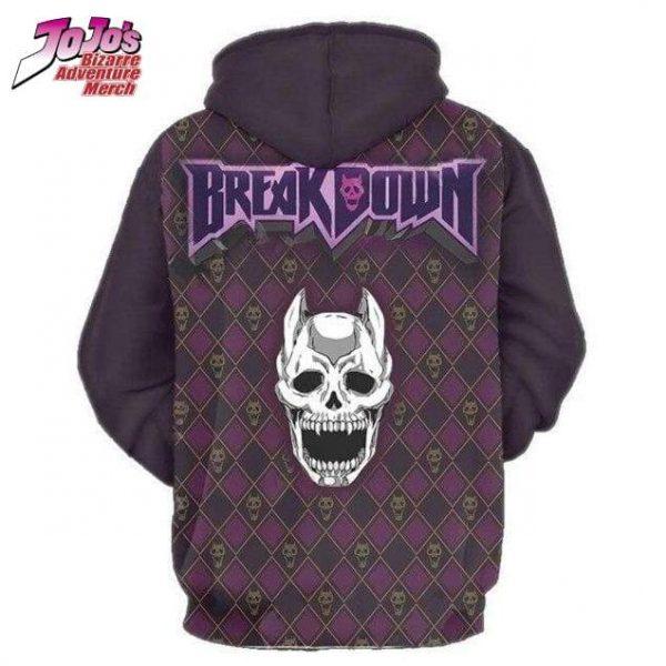 jojo breakdown hoodie jojos bizarre adventure merch 739 - Jojo's Bizarre Adventure Merch