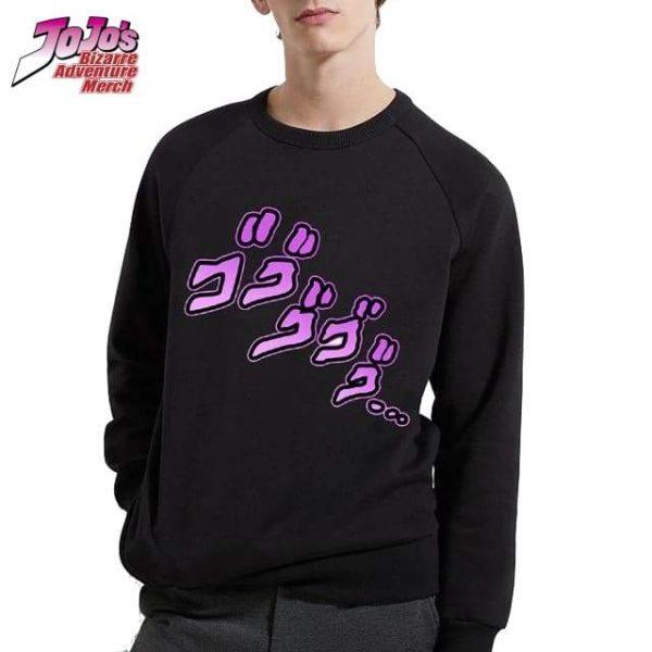jojo menacing hoodie jojos bizarre adventure merch 696 - Jojo's Bizarre Adventure Merch