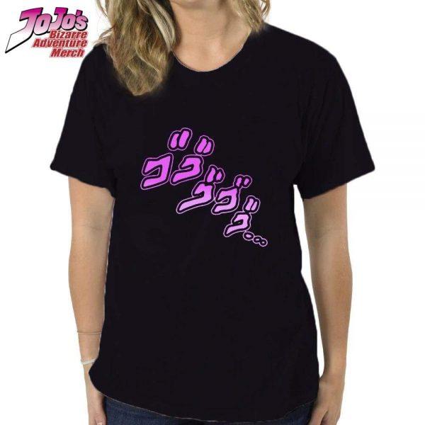 jojo menacing shirt jojos bizarre adventure merch 310 - Jojo's Bizarre Adventure Merch