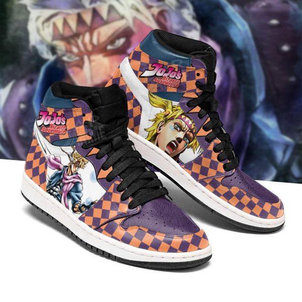 jojos bizarre adventure jordan sneakers caesar anthonio zeppeli shoes gearanime 2 - Jojo's Bizarre Adventure Merch