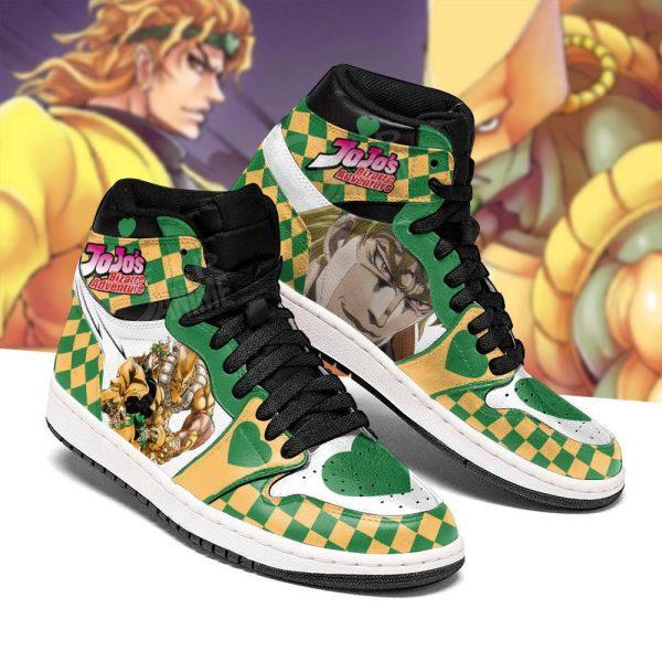 jojos bizarre adventure jordan sneakers dio brando anime shoes gearanime 3 - Jojo's Bizarre Adventure Merch