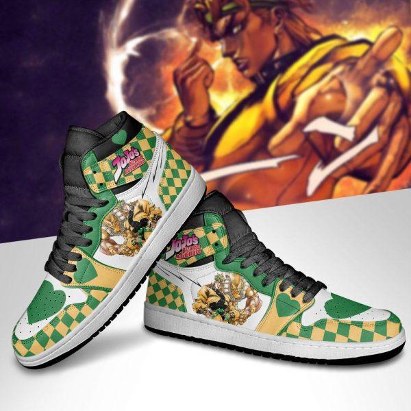 jojos bizarre adventure jordan sneakers dio brando anime shoes gearanime 5 - Jojo's Bizarre Adventure Merch