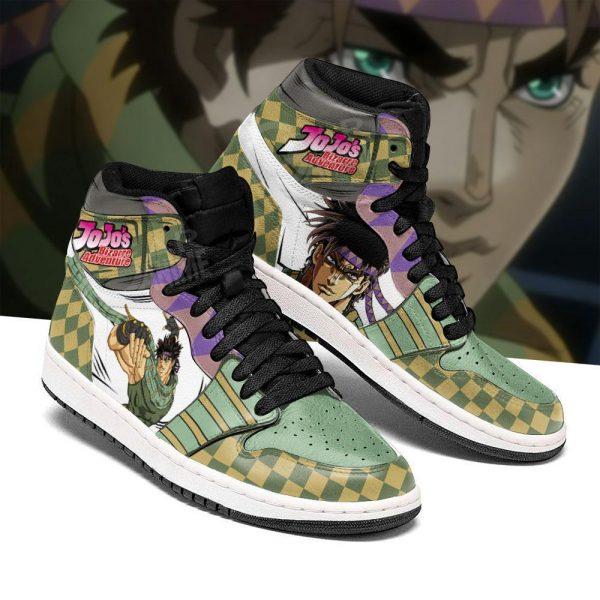 jojos bizarre adventure jordan sneakers joseph joestar anime shoes gearanime 3 - Jojo's Bizarre Adventure Merch