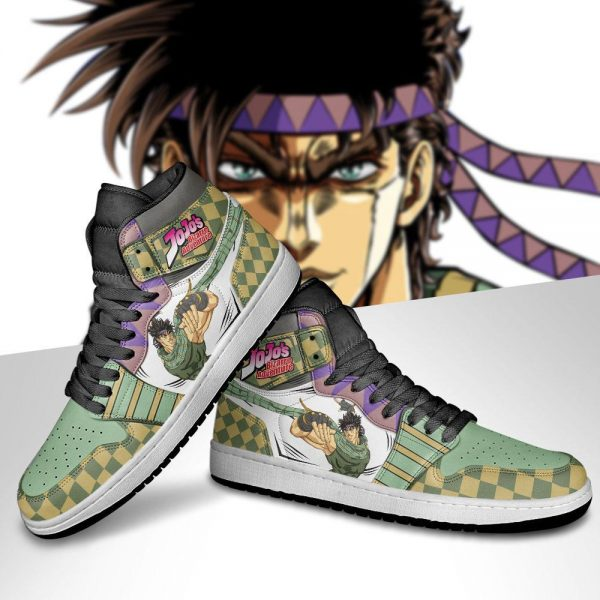 jojos bizarre adventure jordan sneakers joseph joestar anime shoes gearanime 5 - Jojo's Bizarre Adventure Merch