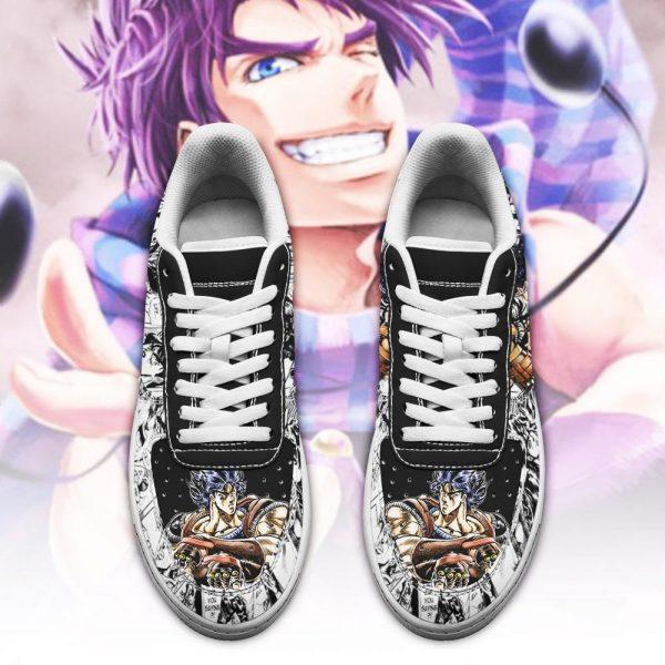 jonathan joestar air force sneakers manga style jojos anime shoes fan gift pt06 gearanime 2 - Jojo's Bizarre Adventure Merch