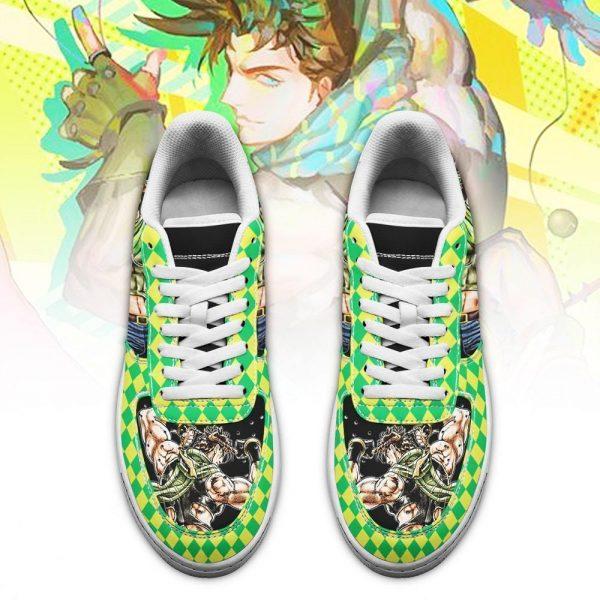 joseph joestar air force sneakers jojo anime shoes fan gift idea pt06 gearanime 2 - Jojo's Bizarre Adventure Merch
