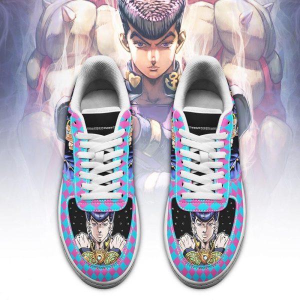 josuke higashikata air force sneakers jojo anime shoes fan gift idea pt06 gearanime 2 - Jojo's Bizarre Adventure Merch