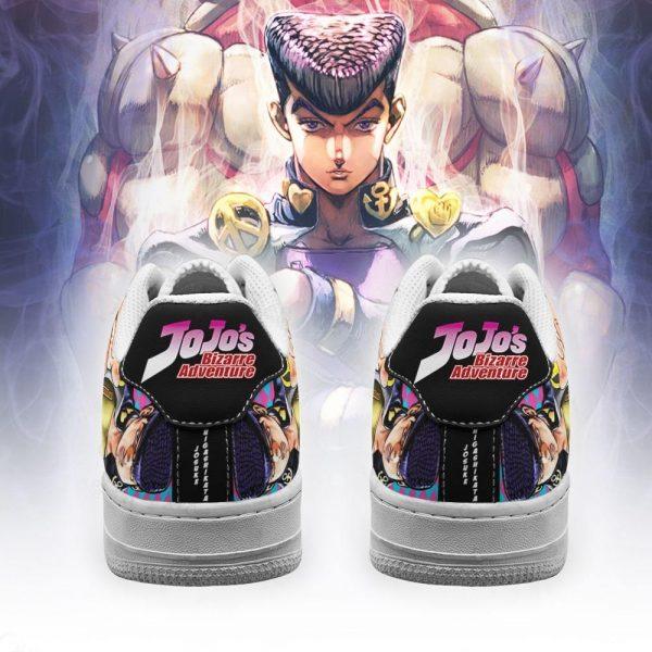 josuke higashikata air force sneakers jojo anime shoes fan gift idea pt06 gearanime 3 - Jojo's Bizarre Adventure Merch