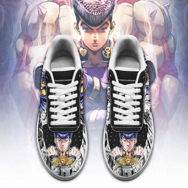 josuke higashikata air force sneakers manga style jojos anime shoes fan gift pt06 gearanime 2 - Jojo's Bizarre Adventure Merch