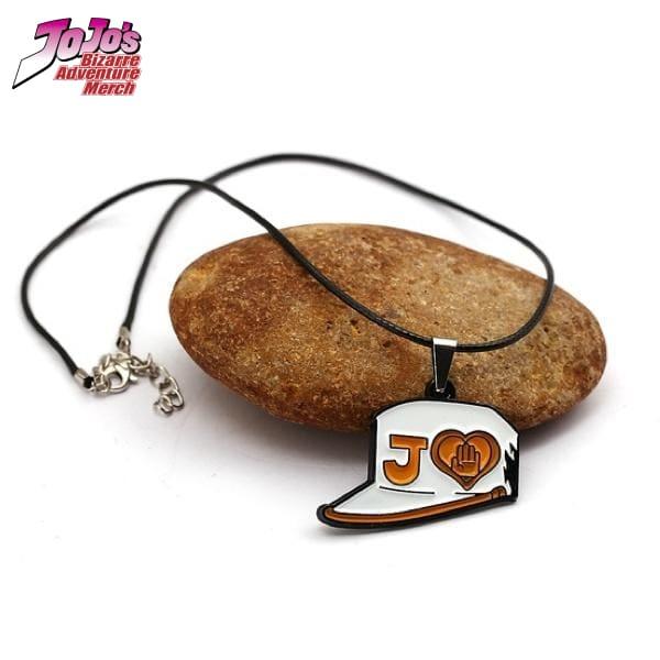 jotaro hat necklace jojos bizarre adventure merch 523 - Jojo's Bizarre Adventure Merch