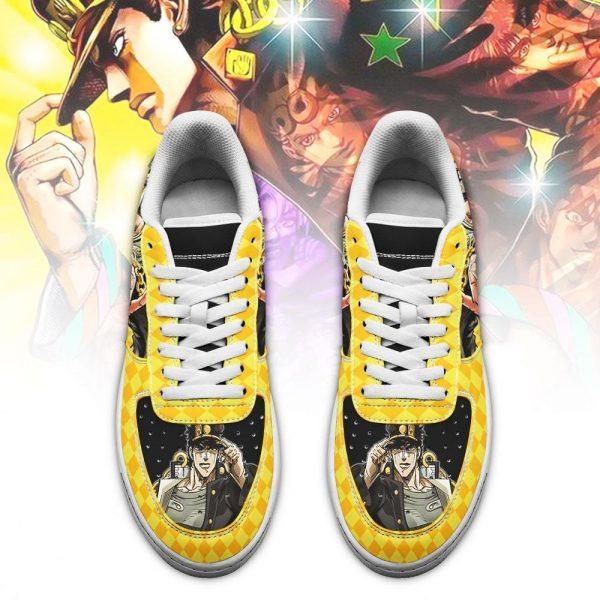 jotaro kujo air force sneakers jojo anime shoes fan gift idea pt06 gearanime 2 - Jojo's Bizarre Adventure Merch