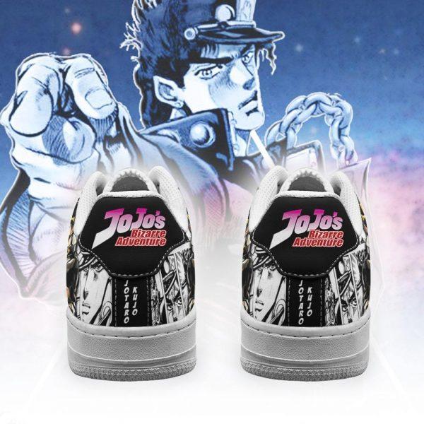 jotaro kujo air force sneakers manga style jojos anime shoes fan gift pt06 gearanime 3 - Jojo's Bizarre Adventure Merch