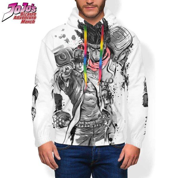 jotaro x star platinum hoodie jojos bizarre adventure merch 684 - Jojo's Bizarre Adventure Merch