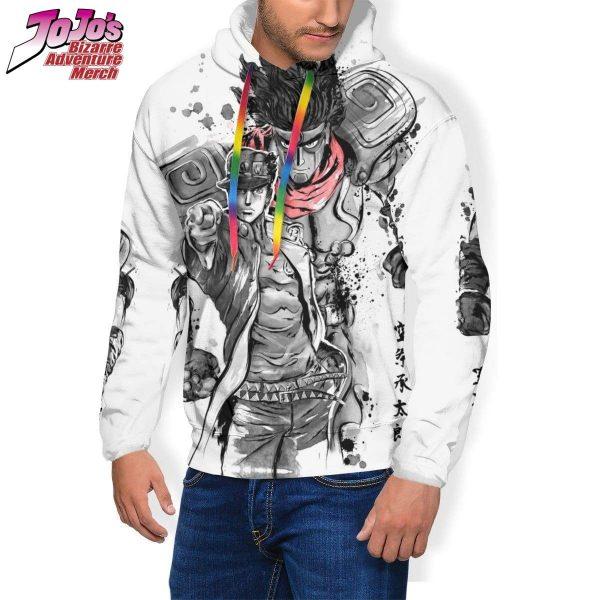 jotaro x star platinum hoodie jojos bizarre adventure merch 884 - Jojo's Bizarre Adventure Merch
