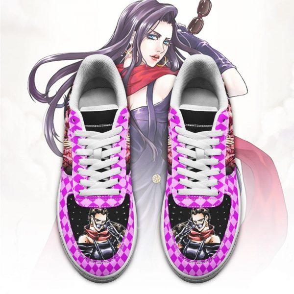 lisa lisa air force sneakers jojo anime shoes fan gift idea pt06 gearanime 2 - Jojo's Bizarre Adventure Merch