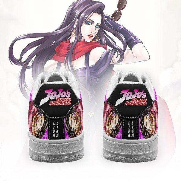 lisa lisa air force sneakers jojo anime shoes fan gift idea pt06 gearanime 3 - Jojo's Bizarre Adventure Merch