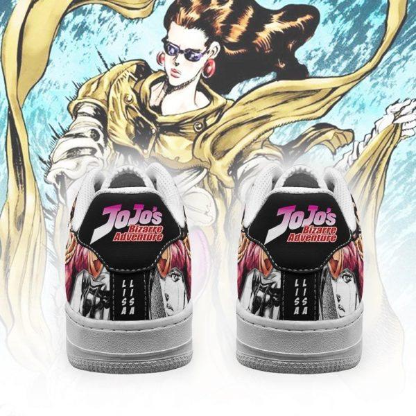 lisa lisa air force sneakers manga style jojos anime shoes fan gift pt06 gearanime 3 - Jojo's Bizarre Adventure Merch