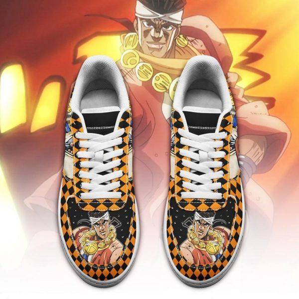 muhammad avdol air force sneakers jojo anime shoes fan gift idea pt06 gearanime 2 - Jojo's Bizarre Adventure Merch