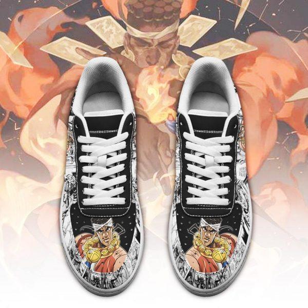 muhammad avdol air force sneakers manga style jojos anime shoes fan gift pt06 gearanime 2 - Jojo's Bizarre Adventure Merch