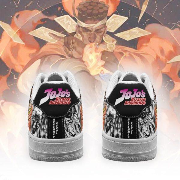 muhammad avdol air force sneakers manga style jojos anime shoes fan gift pt06 gearanime 3 - Jojo's Bizarre Adventure Merch