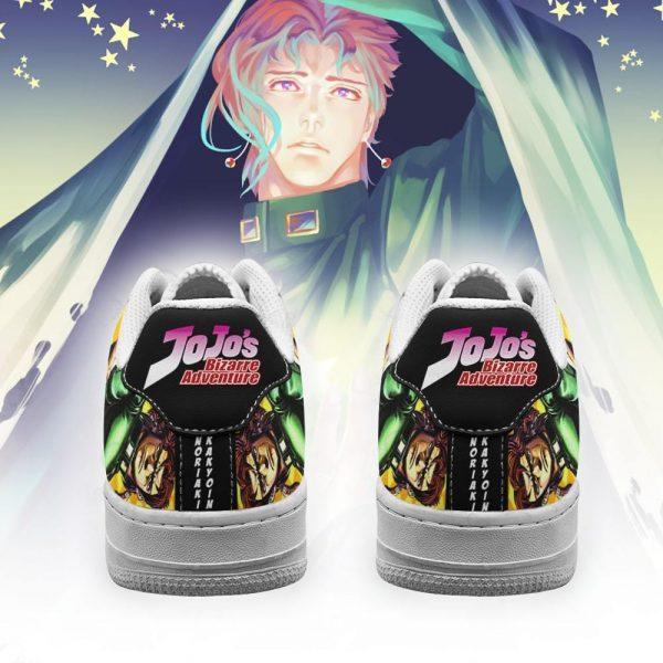 noriaki kakyoin air force sneakers jojo anime shoes fan gift idea pt06 gearanime 3 - Jojo's Bizarre Adventure Merch