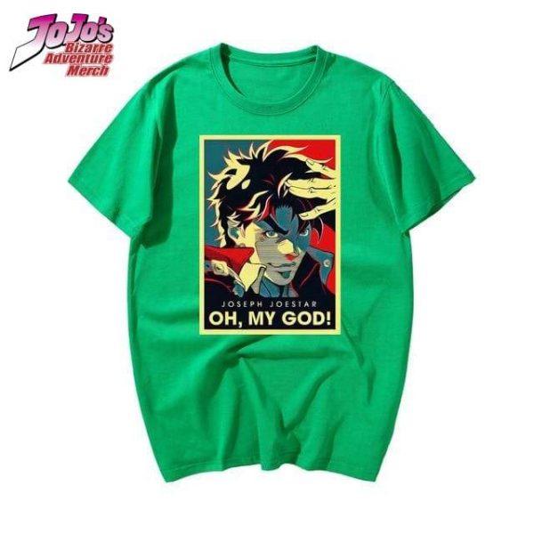 oh my god jojo shirt jojos bizarre adventure merch 898 - Jojo's Bizarre Adventure Merch