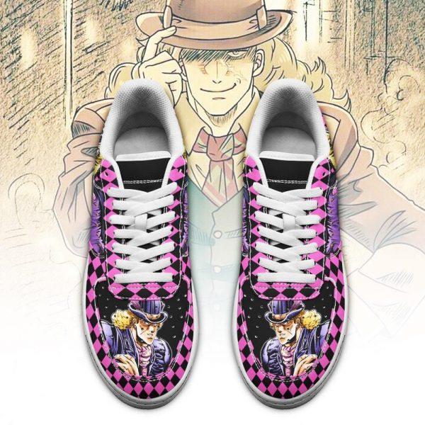 robert e o speedwagon air force sneakers jojo anime shoes fan gift idea pt06 gearanime 2 - Jojo's Bizarre Adventure Merch