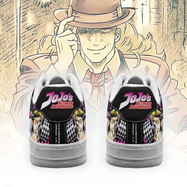 robert e o speedwagon air force sneakers jojo anime shoes fan gift idea pt06 gearanime 3 - Jojo's Bizarre Adventure Merch