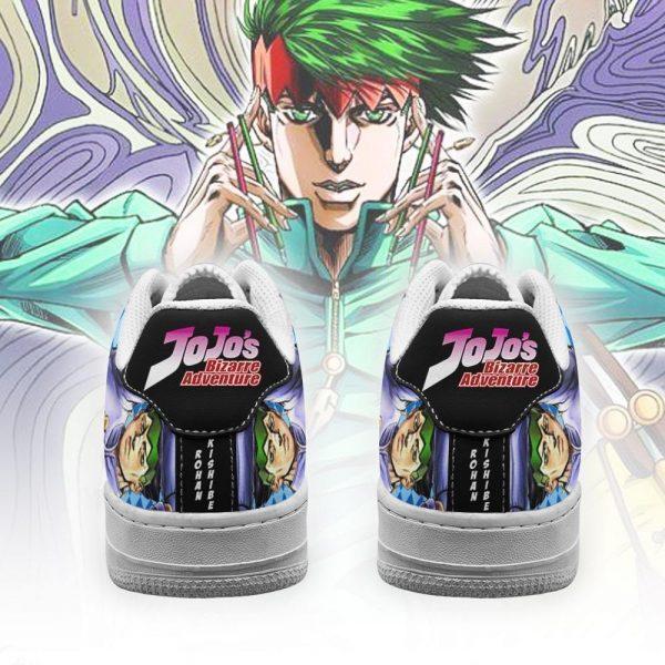 rohan kishibe air force sneakers jojo anime shoes fan gift idea pt06 gearanime 3 - Jojo's Bizarre Adventure Merch